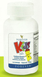 Nouveau packaging de Forever Kids