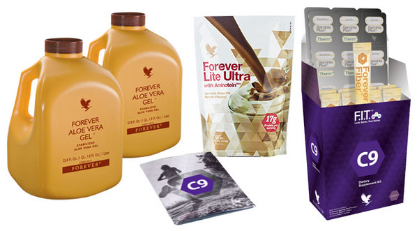 Programme CLEAN 9 produits Forever