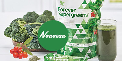 Forever Supergreens vitamines antioxydants